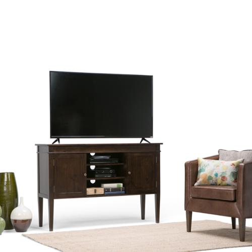 WyndenHall  Sterling Tall TV Stand for up to 60-inch TV's
