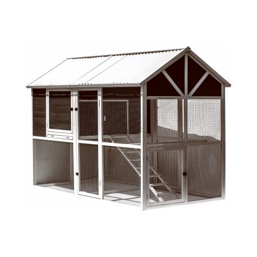 Walk In Chicken House petmate 40081d walk-in chicken coop - walmart