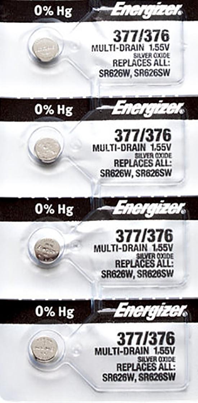 Lot de 10 PILES  ENERGIZER 377-376 SR626SW LR626 AG4  SR66 ENVOI AVEC SUIVI