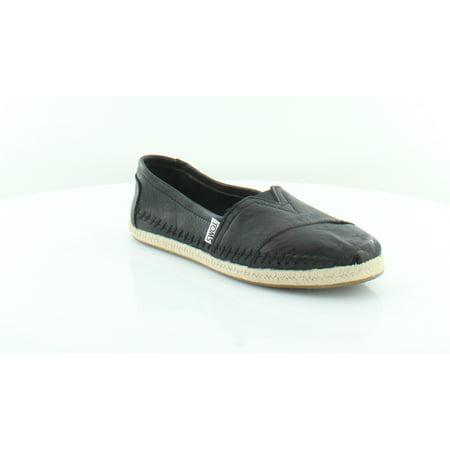 TOMS Alpa Black Women's Flats & Oxfords Black Size 6 M (Toms Clearance Outlet)
