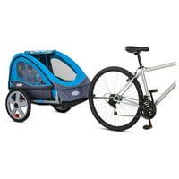 InSTEP Take 2 Double Bike Trailer - Light Blue