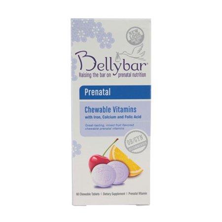 Bellybar prénatale Croquer vitamine fruits mélangés - 60 comprimés à croquer