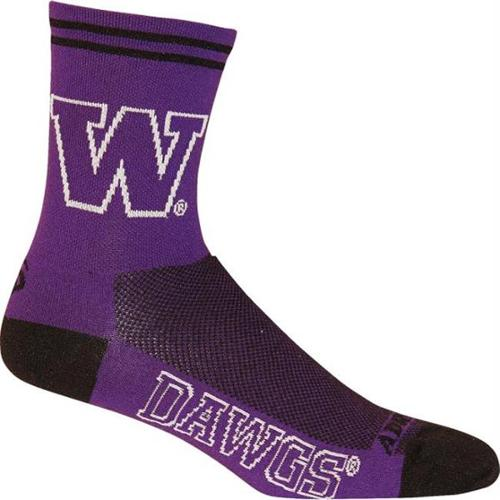 Adrenaline Promotions Washington Huskies NCAA Cycling Socks