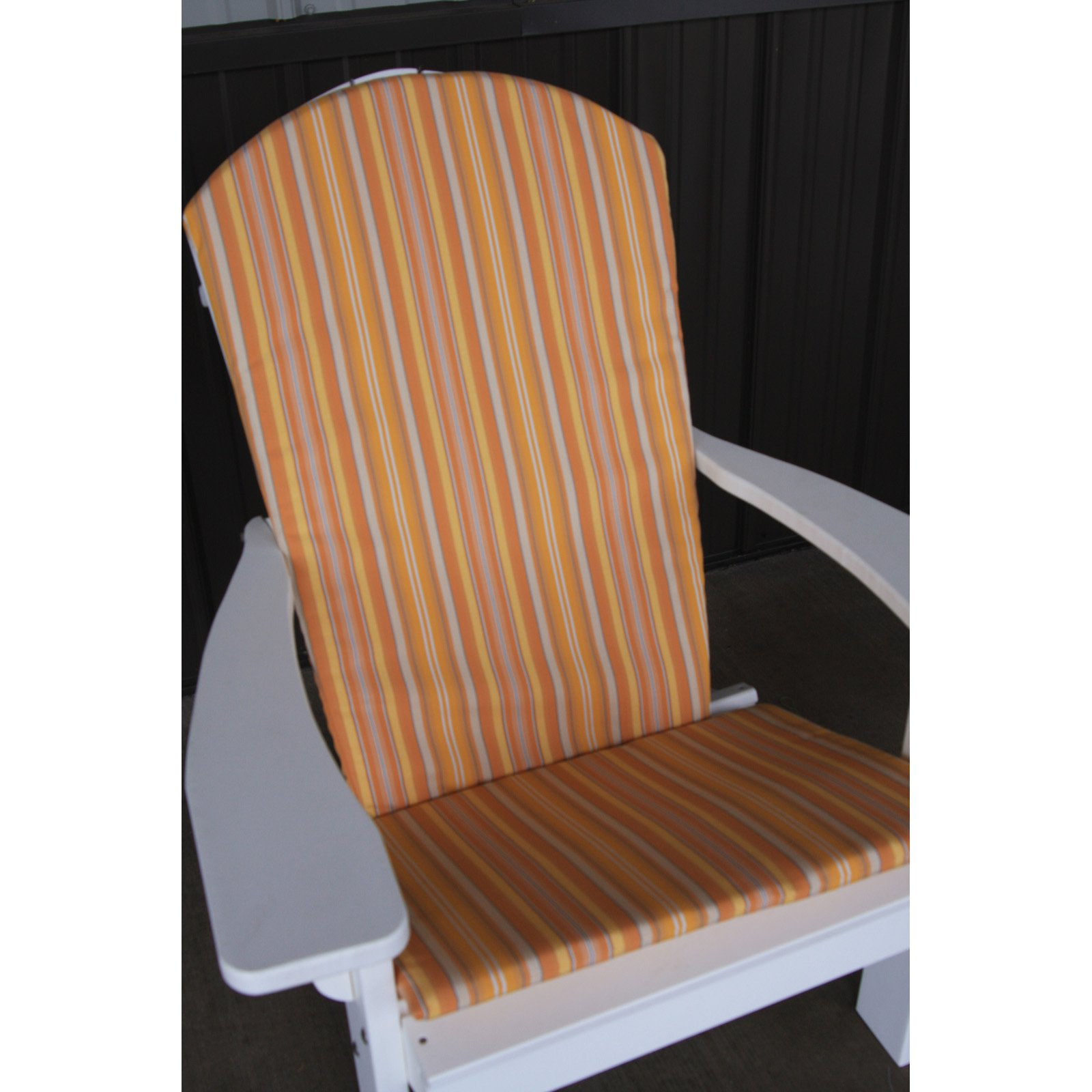 A & L Furniture Sundown Agora Adirondack Chair Full Cushion - 48L x 22W in.