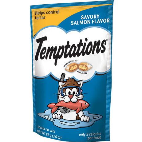 Temptations Classic Treats For Cats Savory Salmon
