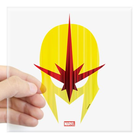 CafePress - Nova Helmet Square Sticker 3