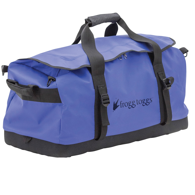 Frogg Toggs PVC Tarpaulin Duffle Bag Blue by Frogg Toggs