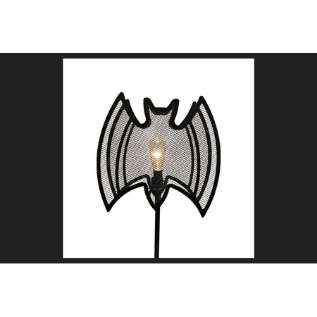 Image of Celebrations 3 PC Bat Pathway Lighted Halloween Decoration 7.5 in. H x 4.5 ft. W x 4.5 ft. L 3 co