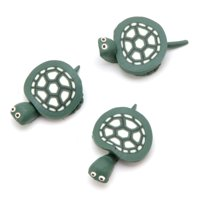 Darice Fimo Clay Animals Green Turtles 1 inch