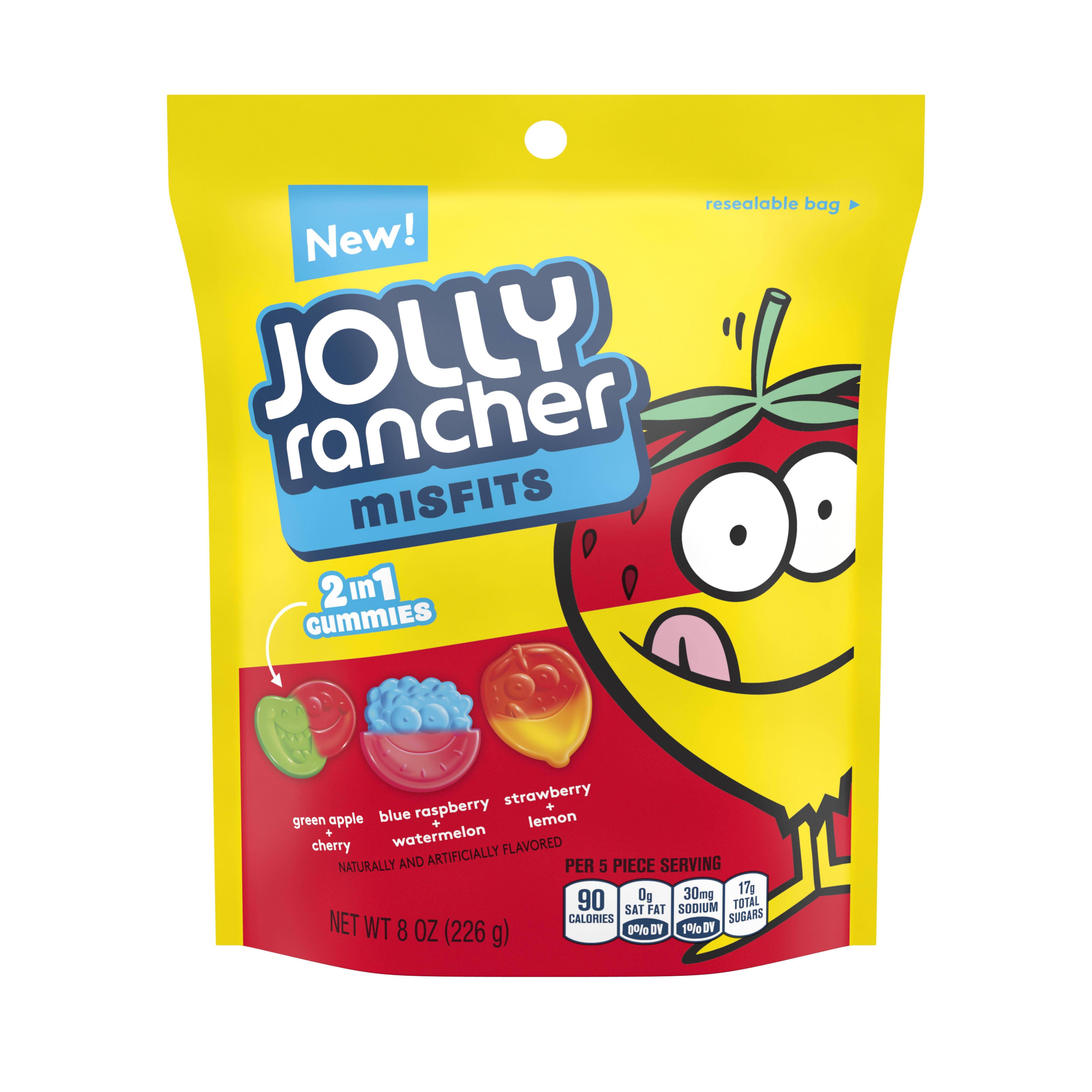 (3 Pack) Jolly Rancher Misfits, Gummies, 8 Oz