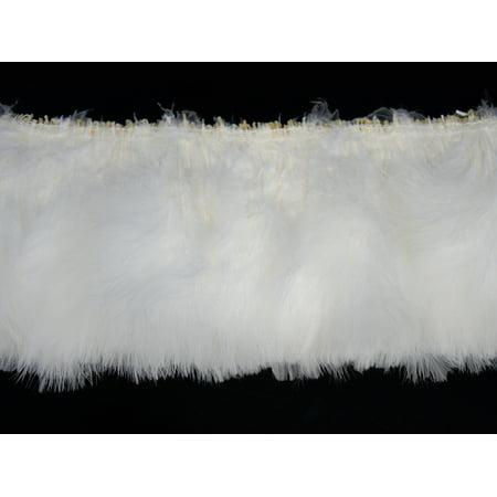 1/2 Lb - Snow White Marabou Turkey Fluff Wholesale Feathers - White Feathers Bulk