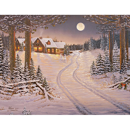 Lang Meadowlands Cabin Assorted Christmas Cards