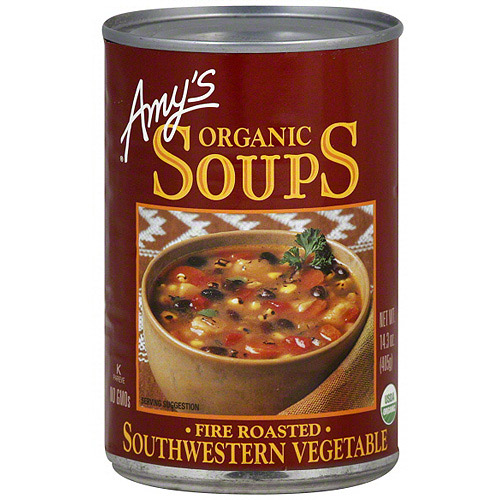 Amy's Kitchen Organic Southwestern Vegetable Soup, 14.3 oz (Pack of 12)