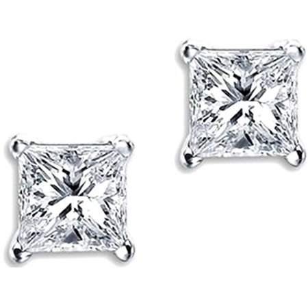 sterling amazon cubic princess stud zowbinbin diamond silver cz com dp earrings fashion zirconia