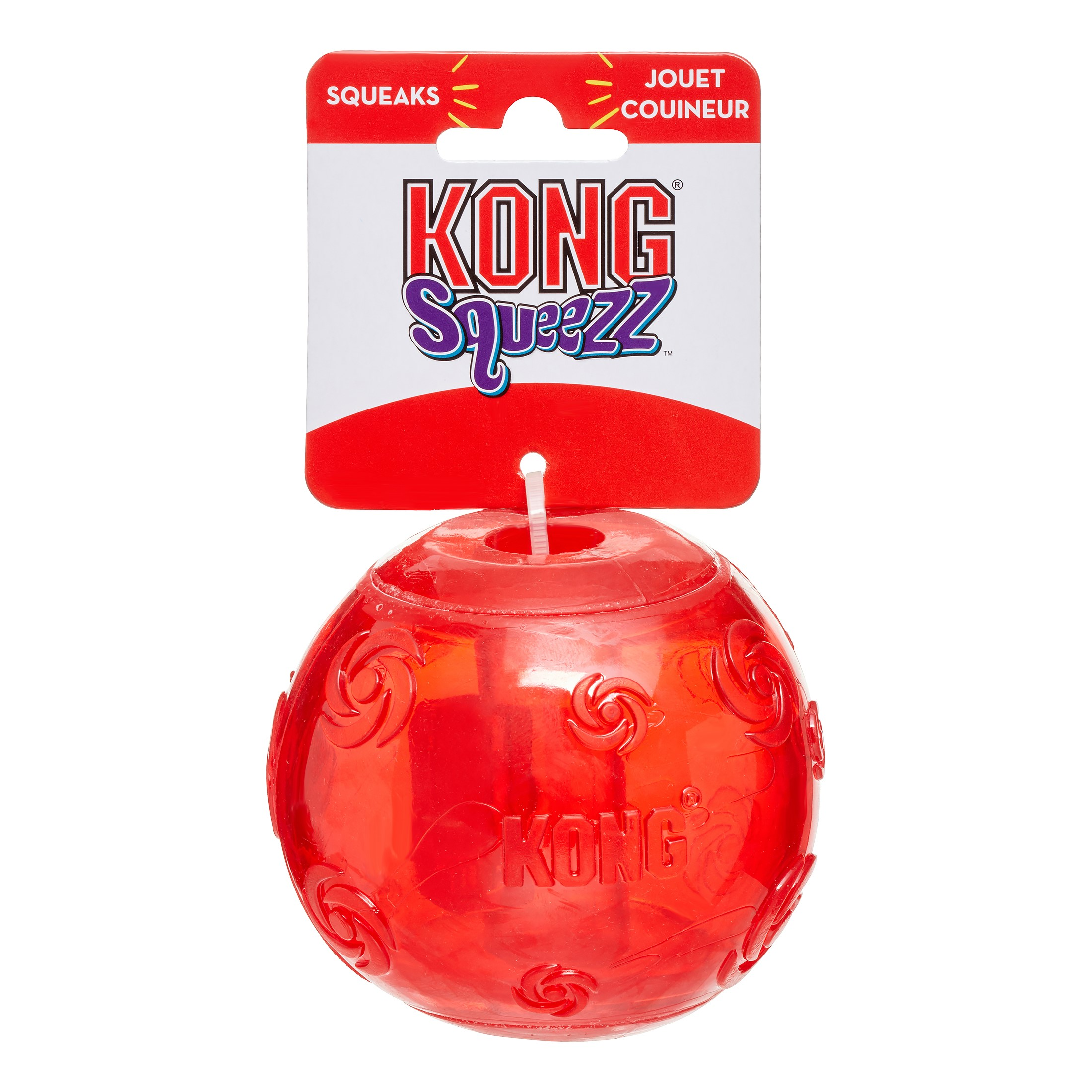 KONG Squeezz Ball Dog Toy, X-Large, Assorted Colors