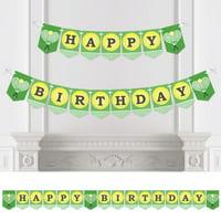 You Got Served - Tennis - Birthday Party Bunting Banner - Tennis Ball Birthday Party Decorations - Happy Birthday