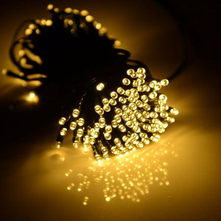 Staron 100 LED Solar/Battery Light Outdoor Fairy String Christmas Garden Lights 100 Outdoor Garden