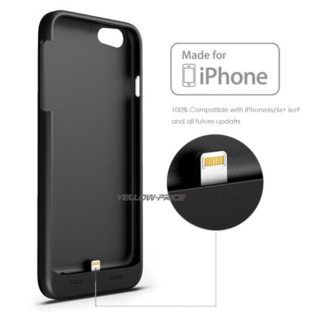 LivEditor Top Ultra Power Bank Battery Charger Phone Case Cover For iPhone 6 Plus, 6S Plus - image 3 de 7