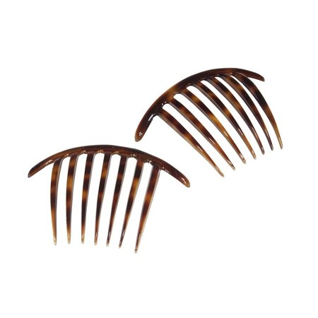 French Twist Comb Made in France Tortoise Shell - Set of 2 (Two)