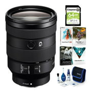 Sony FE 24-105mm f/4 G OSS Full-Frame E-Mount Lens with Accessory Bundle
