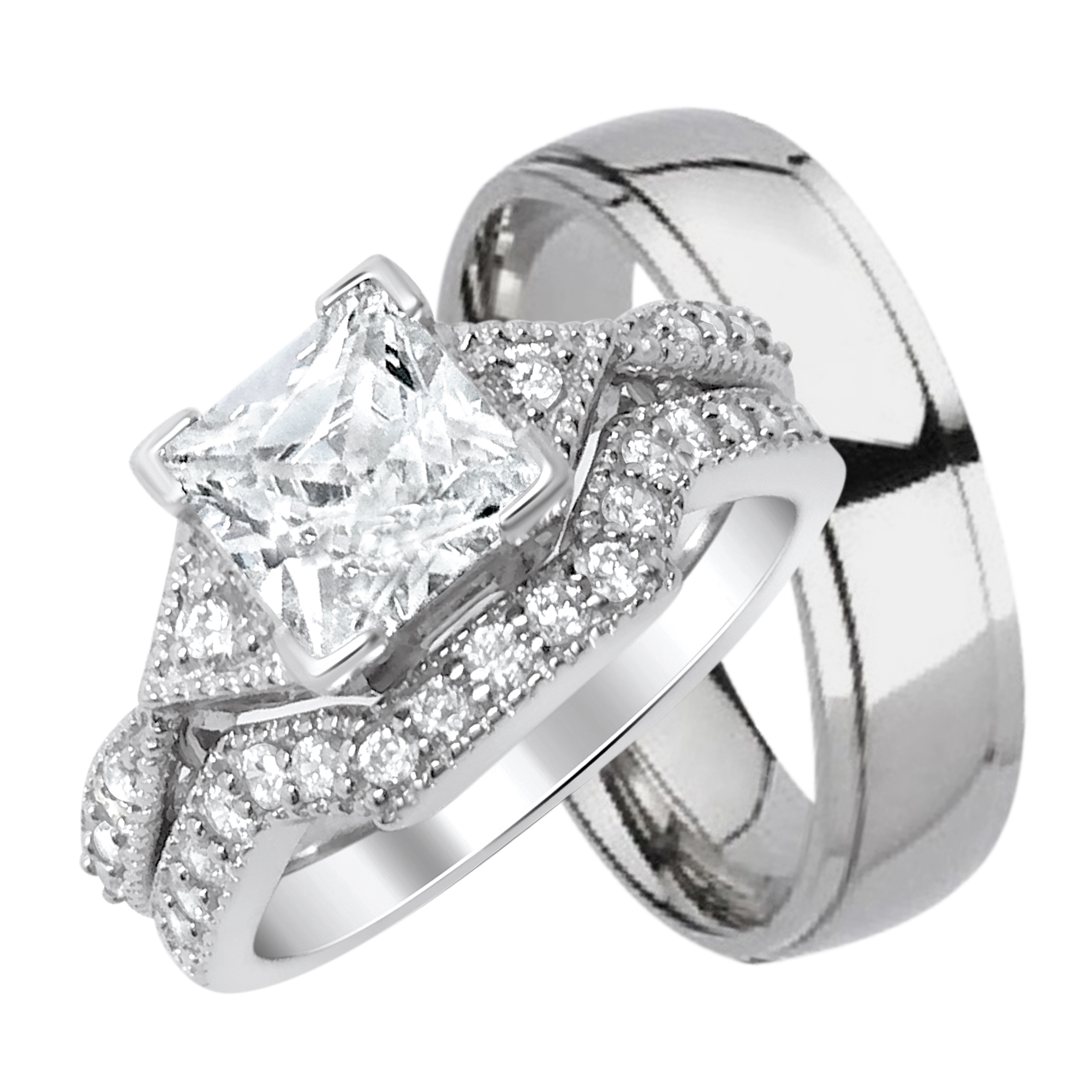 Wedding Rings Sets His And Hers Wedding Rings Sets His And Hers