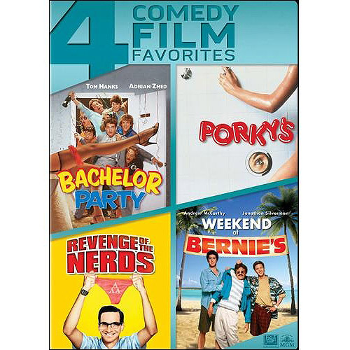 Porky's / Revenge Of The Nerds / Bachelor Party / Weeknd At Bernie's