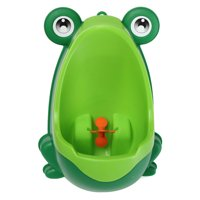 Frog Shaped Portable Children Boy Kids Toilet Training Children Potty Pee Urine Home Bathroom Toilet Urinal