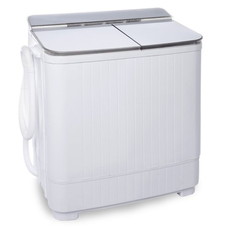 Ivation small compact portable washing machine twin tub washer spin with 8 lb wash capacity - Washing machines for small spaces photos ...