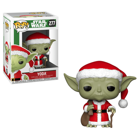 Funko POP! Star Wars: Holiday - Santa Yoda ()