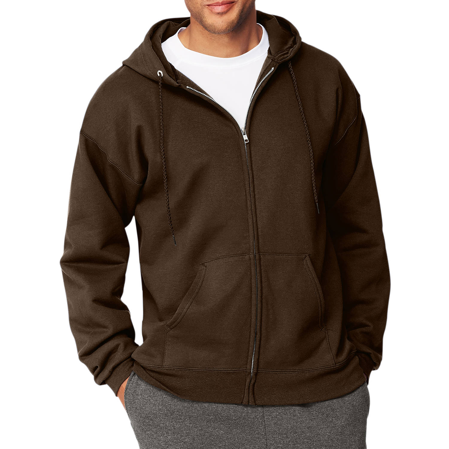 Hanes Men's Ultimate Heavyweight Fleece Full Zip Hood