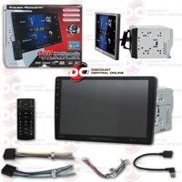 """Power Acoustik Car 2DIN PD-1060HB 10.6"""" DVD CD stereo with Bluetooth"""
