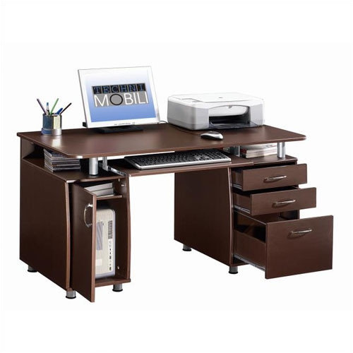Techni Mobili Super Storage Computer Desk