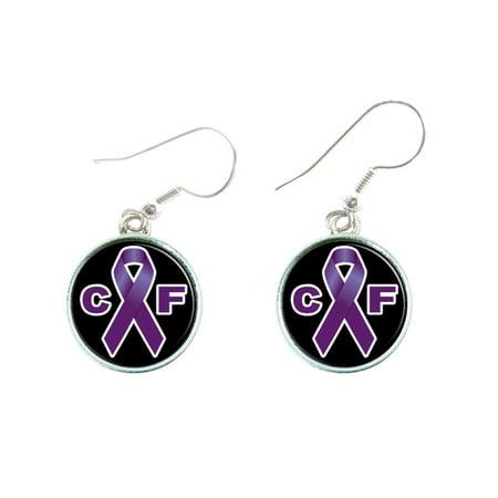Cystic Fibrosis Awareness Earring Companion Jewelry