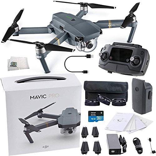 DJI Mavic Pro Collapsible Quadcopter Starters Videographe...