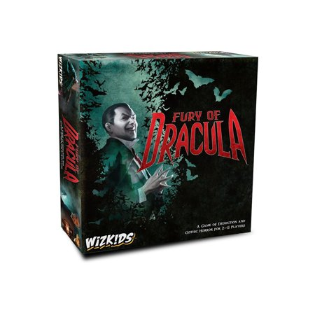 Wizkids Fury of Dracula 4th Edition Board Game