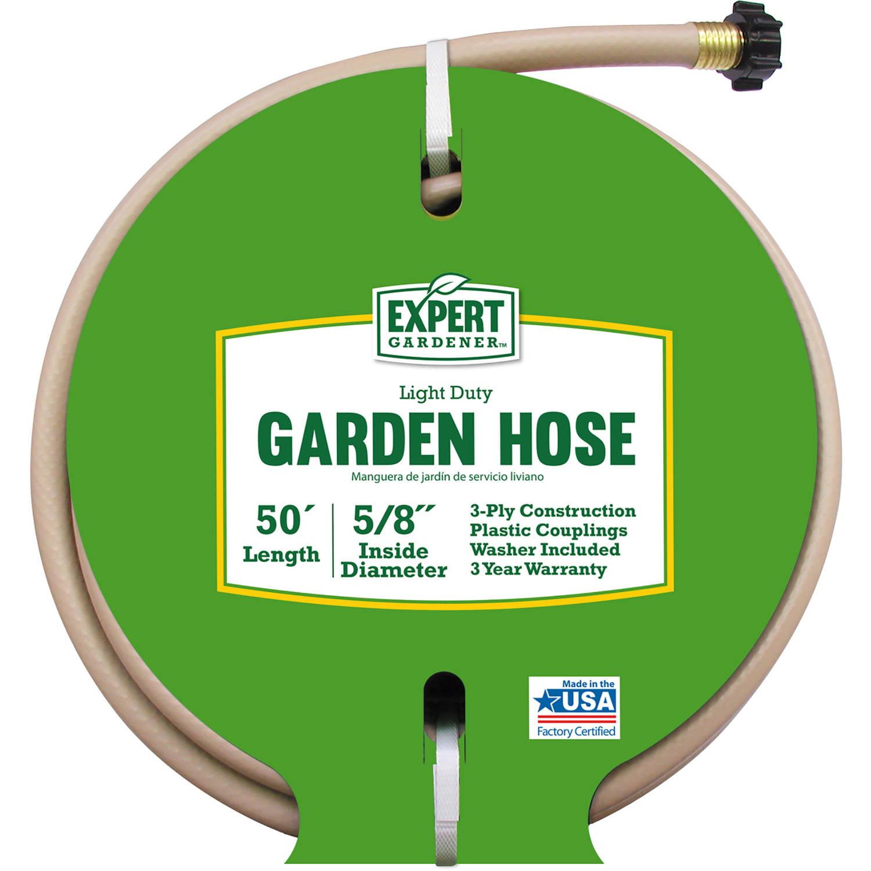 Expert Gardener 50' Light Duty Garden Hose