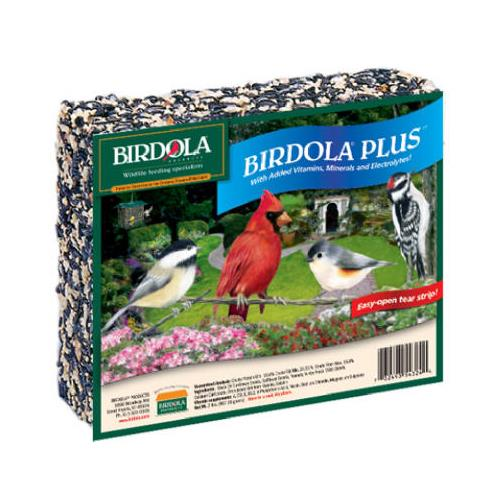 Birdola Plus Large Seed Cake with Vitamins & Minerals, 2 lbs