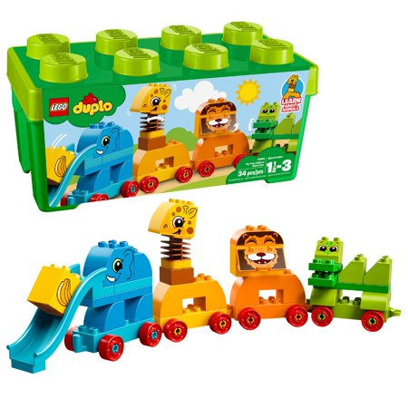 - LEGO DUPLO My First Animal Brick Box 10863 (34 Pieces)