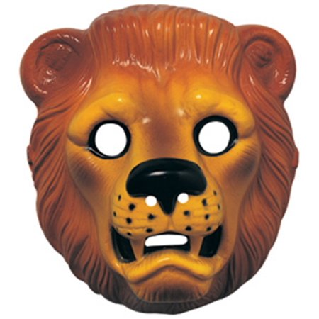 LION PLASTIC MASK - Lion Mask