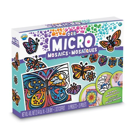 ORB Micro Mosaics All in One Butterfly Kit