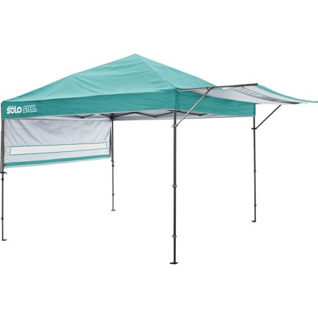 Solo Steel 170 10 x 17 ft. Straight Leg Canopy - Turquoise
