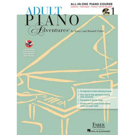 Adult Piano Adventures All-In-One Lesson Book 1 : Book with CD, DVD and Online Support (Adult Online Stores)