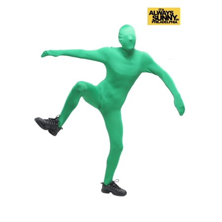 Always Sunny in Philadelphia Green Man Costume](Philadelphia Asylum Halloween)