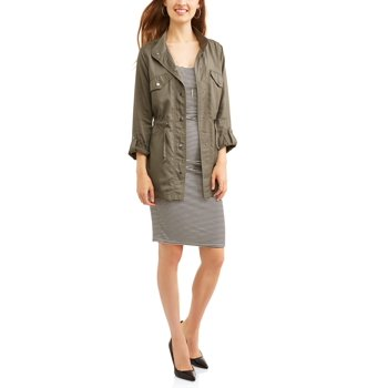 Faded Glory Womens Utility Jacket