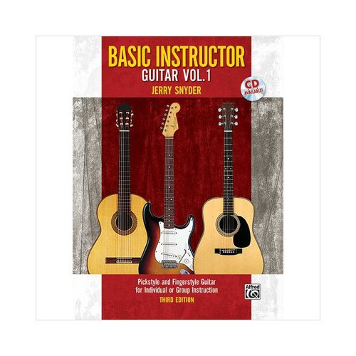 Alfred 00-32071 Basic Instructor Guitar 1- 3rd Edition - Music Book
