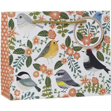 Birdie Gift - Jillson & Roberts Eco-Friendly Medium Gift Bags, Birdie (12 Pcs)