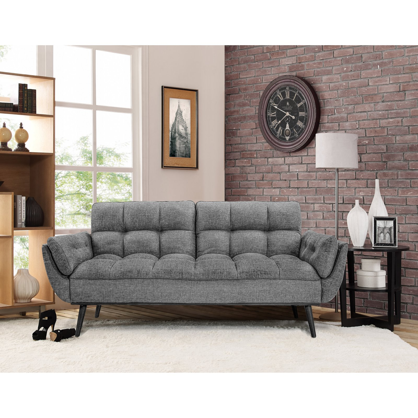 Relax A Lounger Carly Convertible Sofa