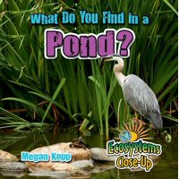 Ecosystems Close-Up: What Do You Find in a Pond? (Hardcover)
