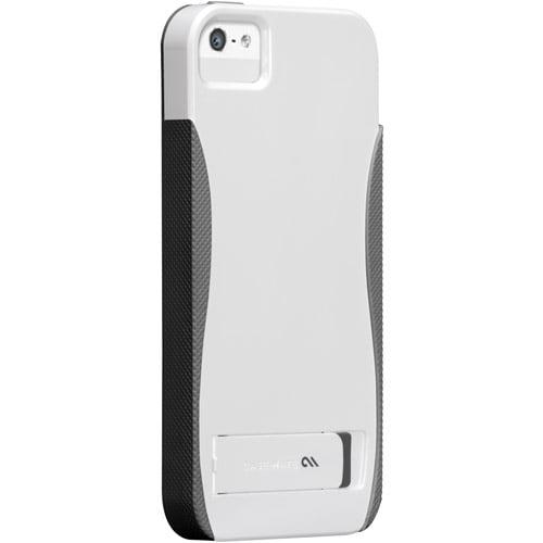 Case-Mate Pop! Case for iPhone 5, White/Titanium