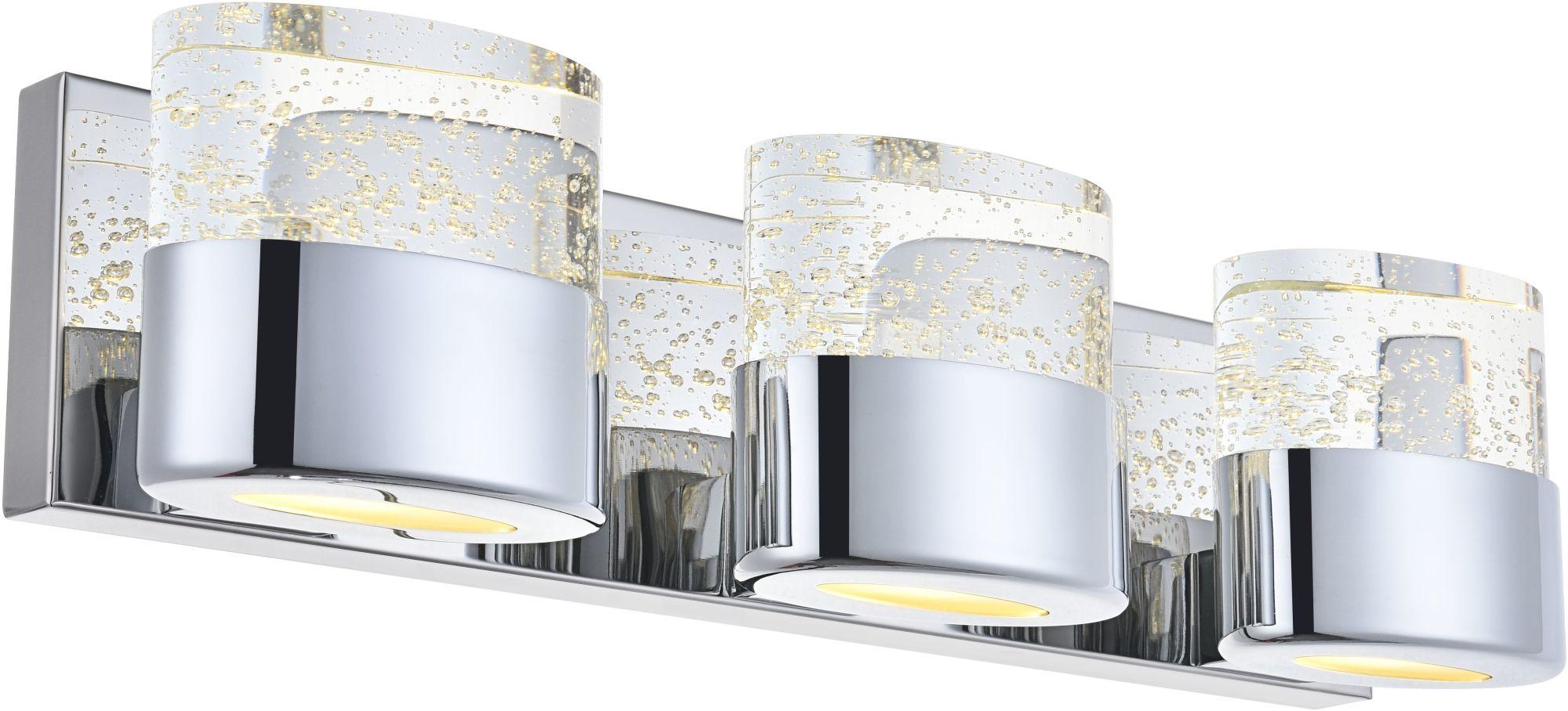 Elegant Lighting 5301w19 Pollux 6 Light 19 Wide Integrated Led Bathroom Vanity Light Walmart Com Walmart Com